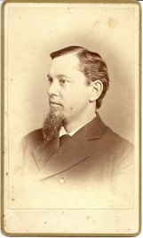 "Carte de visite portrait of ""Duke"" Boyd by B. W. T. Phreaner"