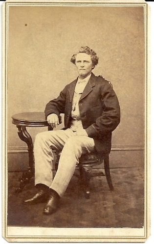 Carte de visite portrait of John M. Wisherd by B.W.T. Phreaner