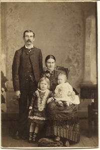 Unidentified McAlpine Family by T. L. Darnell (Front)