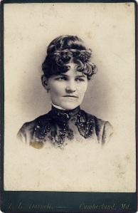 Unidentified McAlpine woman by T. L. Darnell, Cumberland, Md.