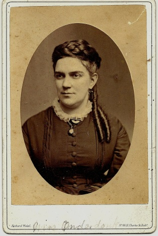 Portrait of Mary Latrobe Onderdonk by RIchard Walzl