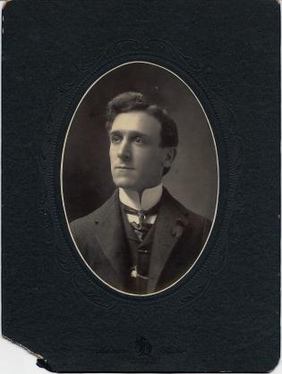 Cabinet card photograph of James Burnite SeBastian by William Ashman