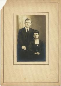 Portrait of Raymond L. Kelly and Belva Wiles Kelly